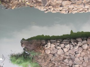 Reflections, At a brick klin site, Khandeshwar