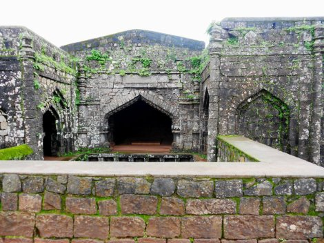 Remains of the Panhala fort